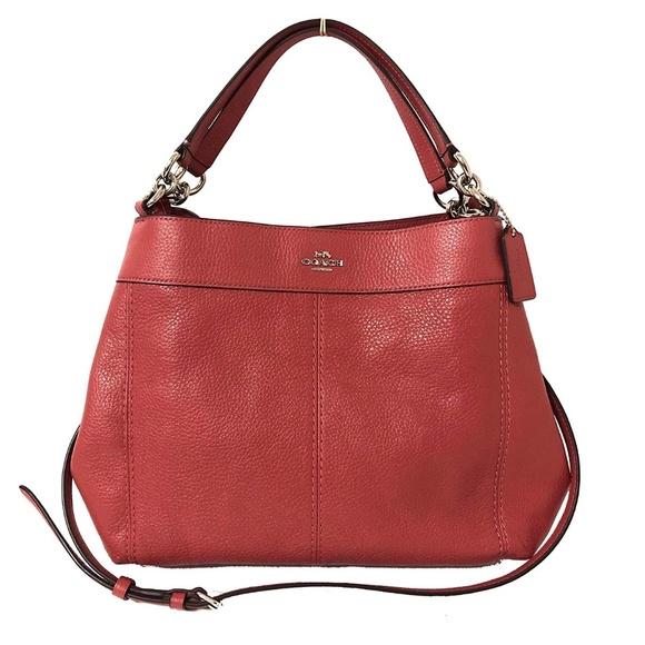 338e76eaad8f COACH small Lexy shoulder bag new